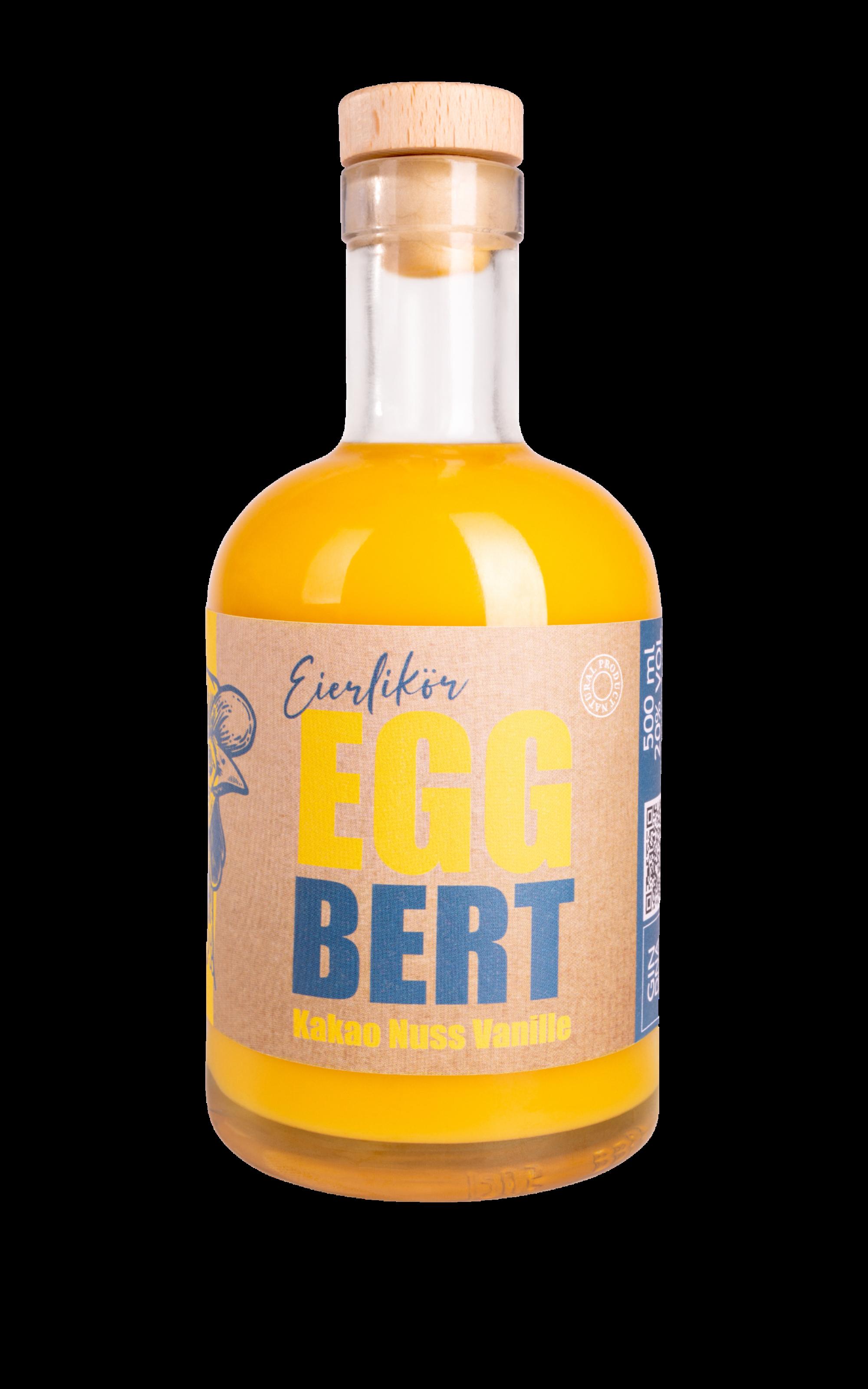 Eggbert Eierlikör 0,5l 20% Vol.